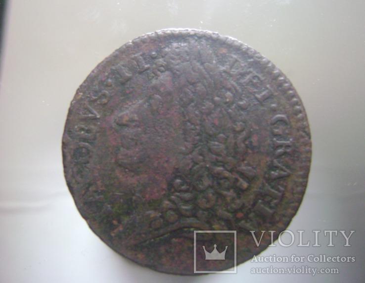 Яков 2,Шиллинг гражданской войны 1689г
