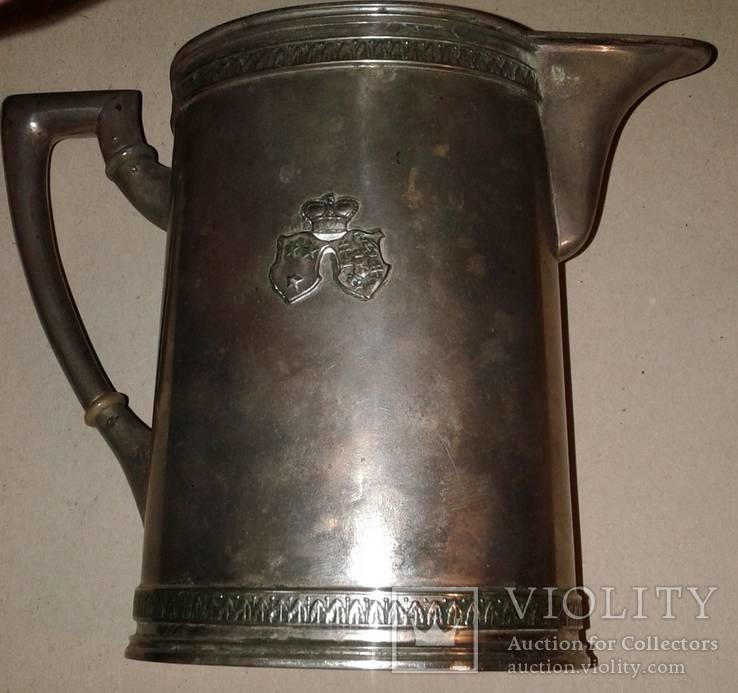 Серебряный молочник Австро-Венгрия 500 грамм