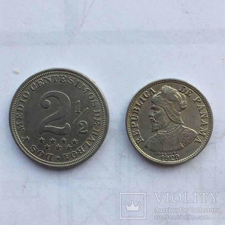 Панама 2-1/2 CENTESIMOS 1916,1929