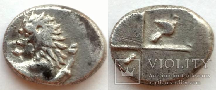 Гемидрахма Фракия Херсонес 350-300 гг до н.э. (69_30)