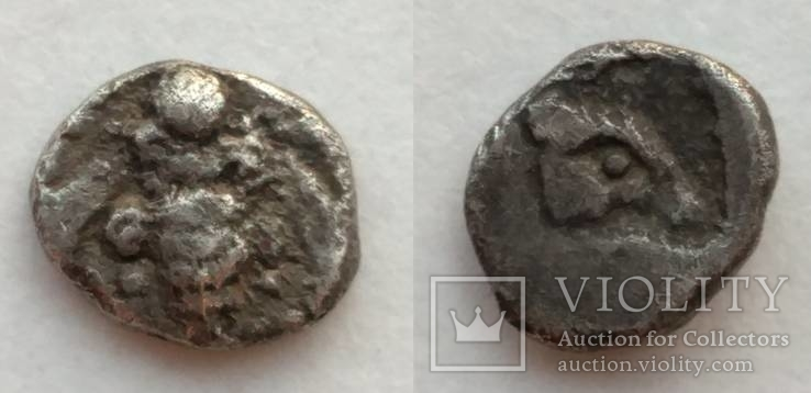 Тетартеморион Ionia Ephesos 550-500 гг до н.э. (69_43)