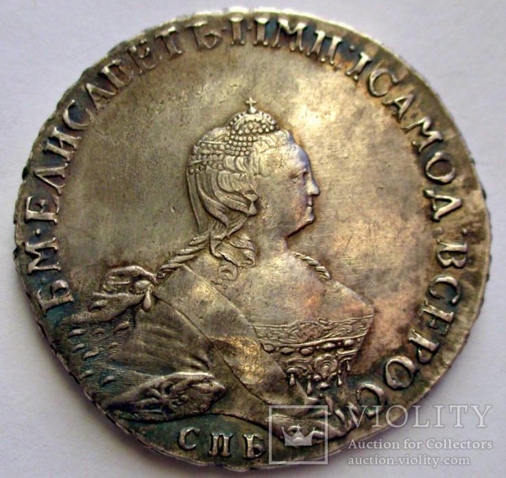 Рубль 1756 года (Портрет раб. Б. Скотта)