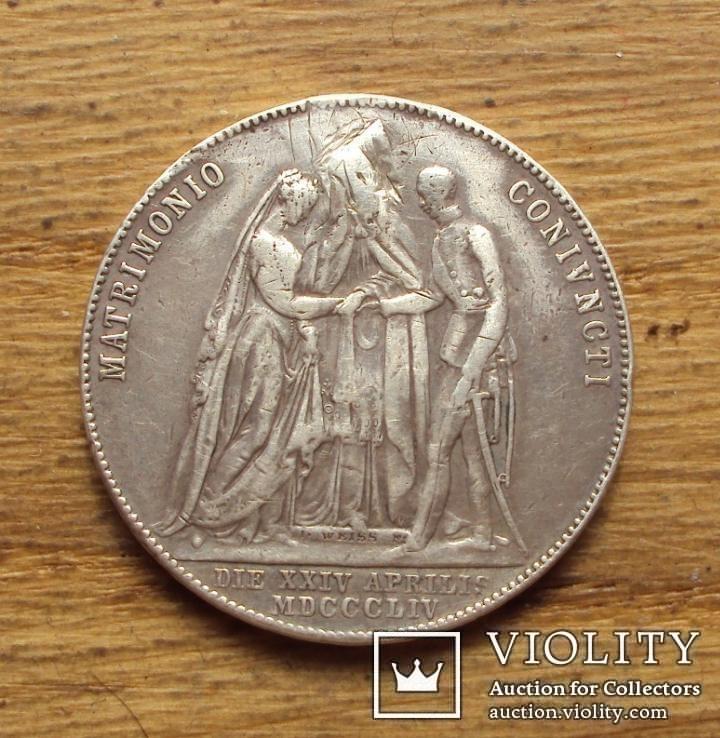 Австрия памятная монета серебро 12,72 г