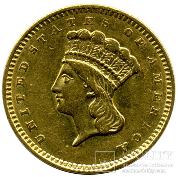 1 Доллар 1857г. США