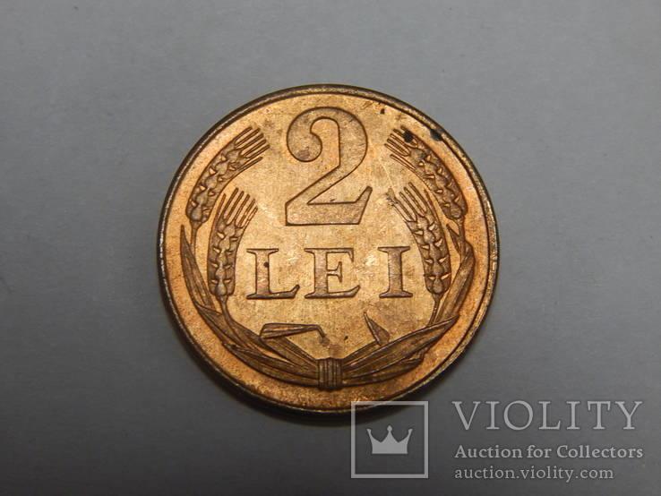 2 лея, 1947 г Румыния