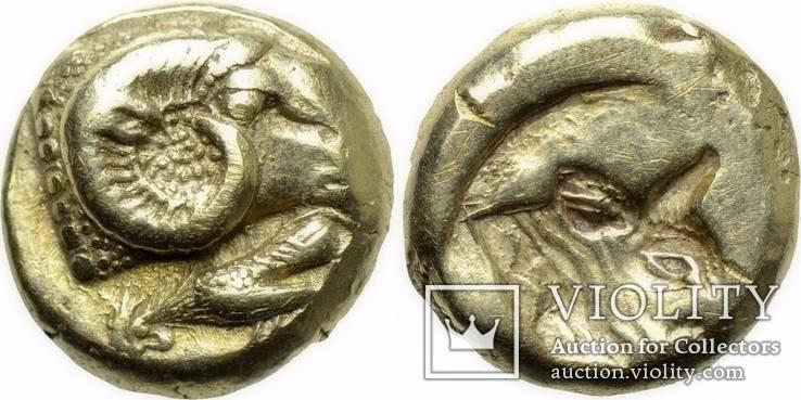 Гекта Lesbos Mytilene 478-455 гг до н.э. (14_5)