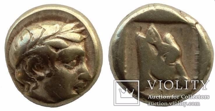 Гекта Lesbos Mytilene 454-428 гг до н.э. (14_6)