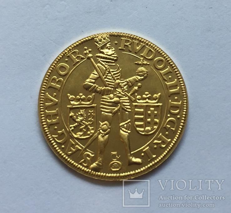 1 дукат 1997 год ЧЕХИЯ золото 3,54 грамм 999,9`