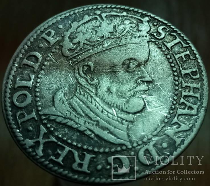 Грош 1578 р. м.д. Гданськ