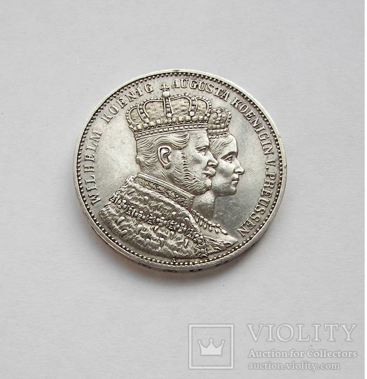 Талер 1861 Пруссия