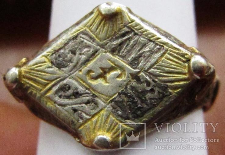Перстень  13 век