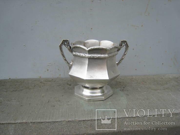 Вазочка серебро клейма (304гр.)
