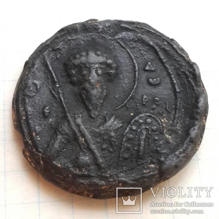 Св.Феодор Тирон - св.Феодор Стратилат, вислая печать периода Киевской Руси