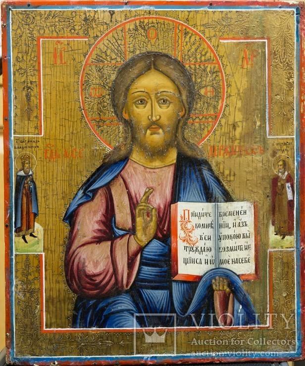 Икона Христа Спасителя (36*30*3 см.)