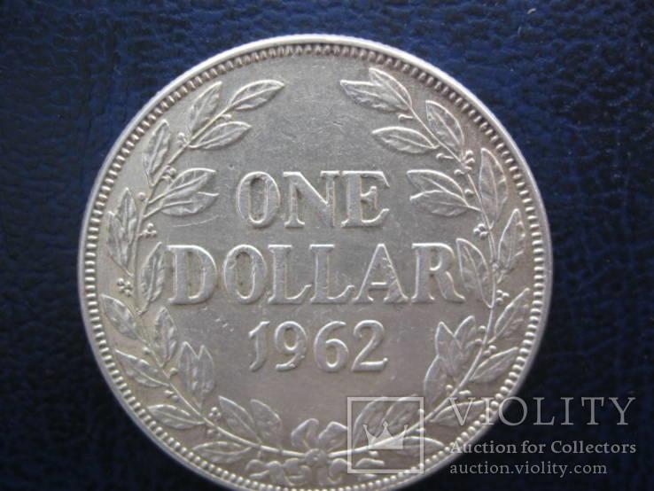 Доллар 1962 год Либерия