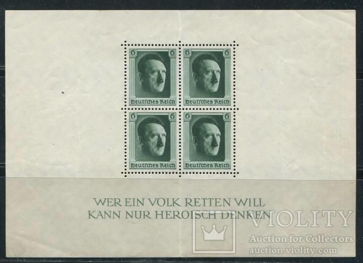 1937 Рейх гитлер блок