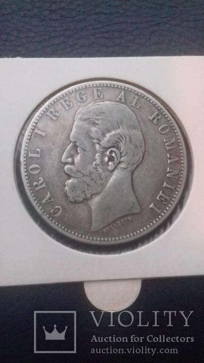 5 лей 1883 р. Румунія.