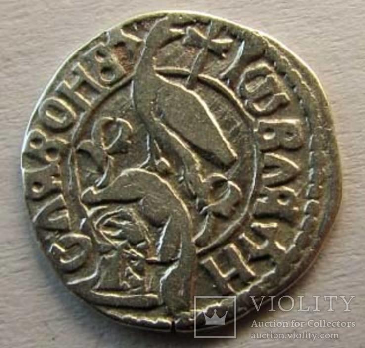 Монета   времен   гр Дра́кулы  (кн , Валахии )