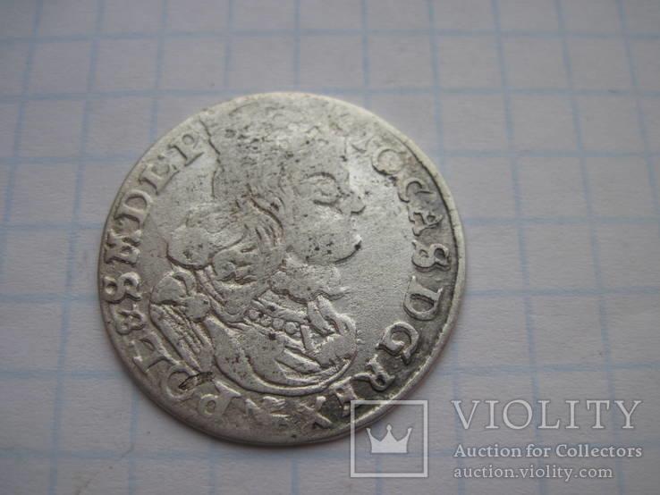 Шестигрошовик 1662р.