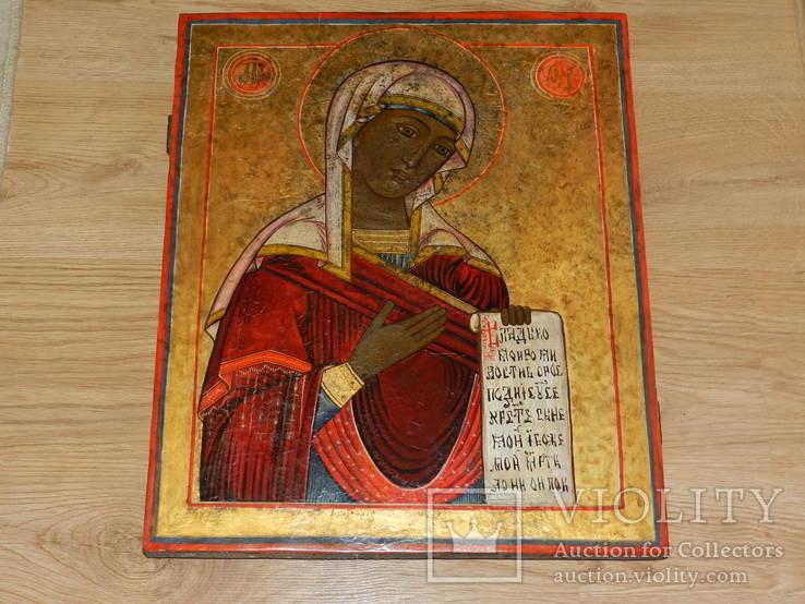 Икона Богоматери из Деисусного чина