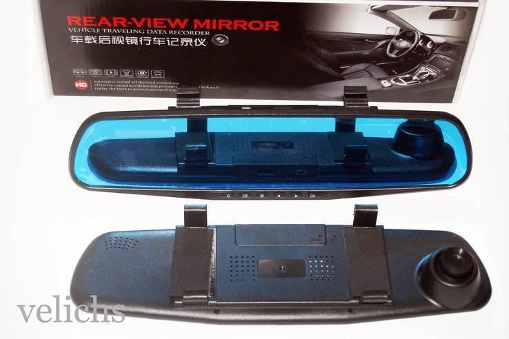 Автовидеорегистратор зеркало REAR-VIEW MIRROR DVR 138 E