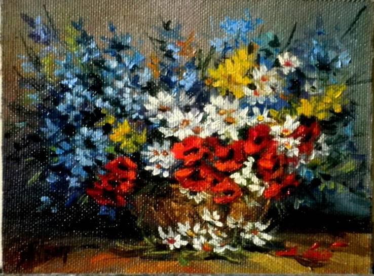 Полевые цветы.автор Березина Карина