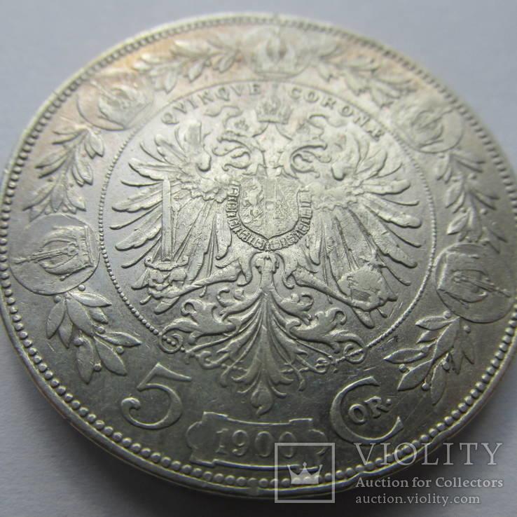 5 крон 1900 г.