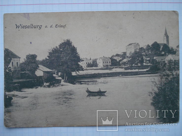 Открытка старинная Wieselburg
