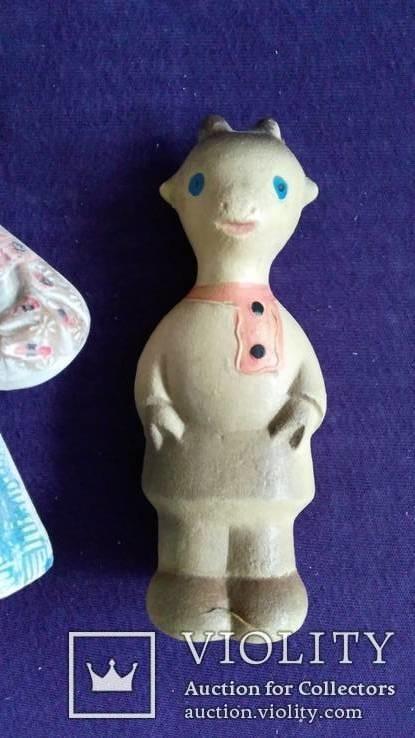 Резинова іграшка Українка +5 СССР, фото №4