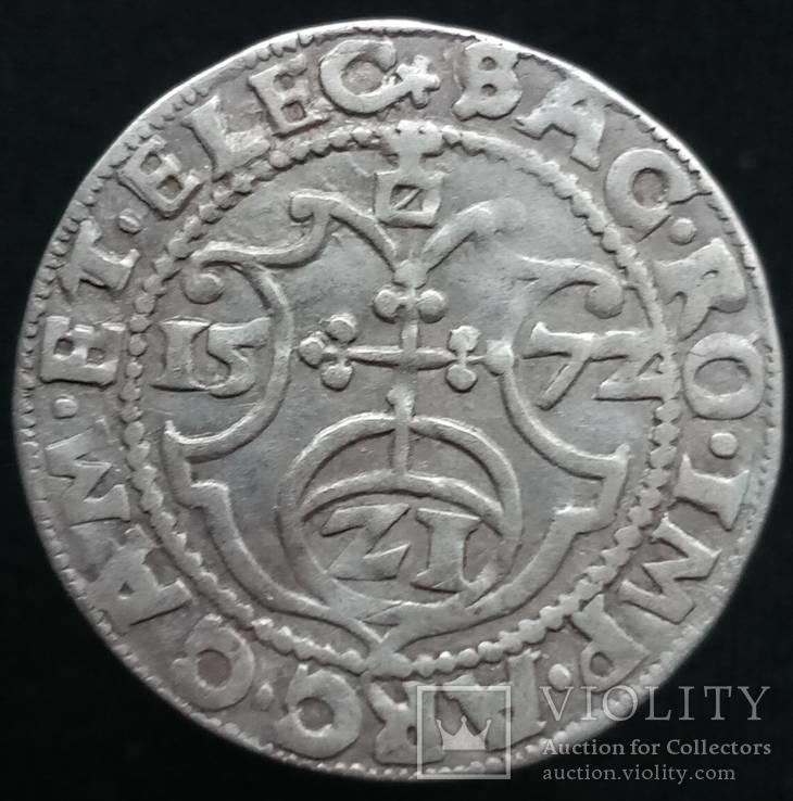 Грошен 1572 р. Бранденбург