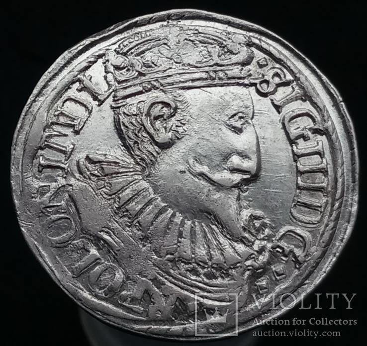 Трояк 1597 р. м.д. Олькуш