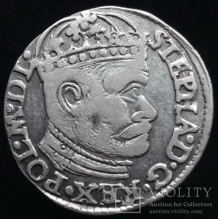 Трояк 1584 р. м.д. Олькуш (Iger O.84.2.9 (R2), Георг Хосе)