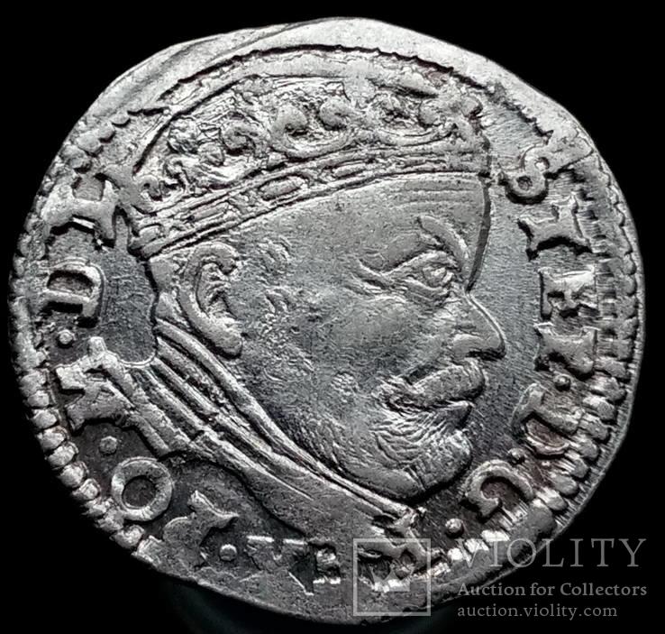 Трояк 1586 р. м.д. Вільно (Іванаускас 4SB60-29.var)