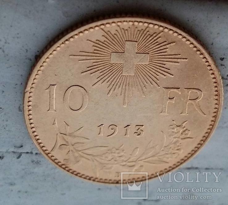 10 Франков 1913 , Швеция