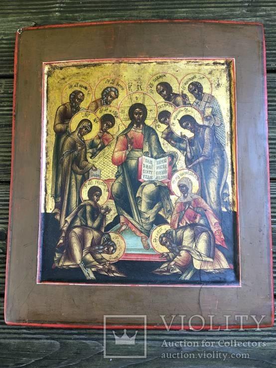 Икона Святая Седмица, ковчег