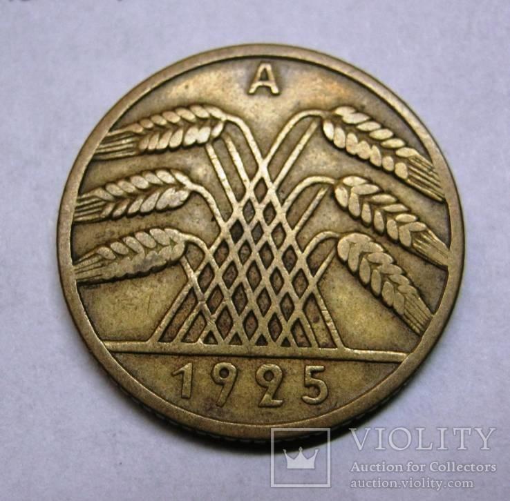 10 рейхспфенингов 1925 г А., фото №2