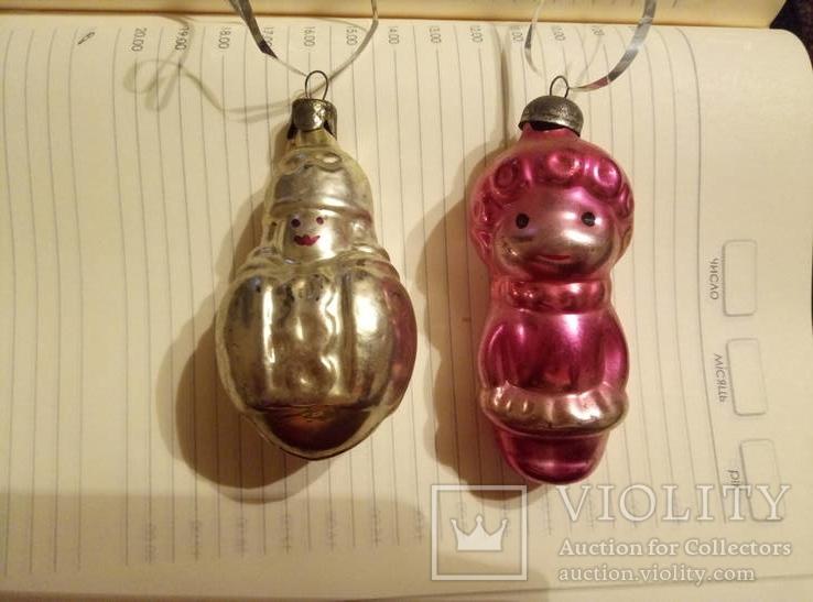 Дві ялинкові іграшки, фото №2