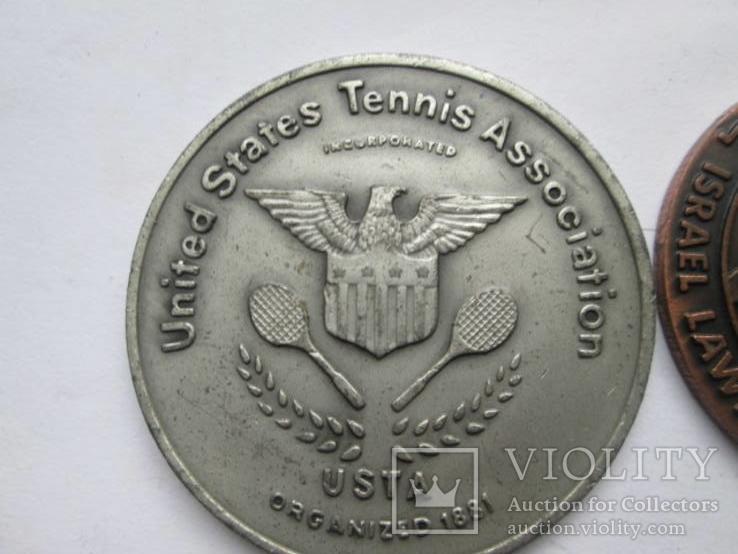 Две медали по тенису, фото №3