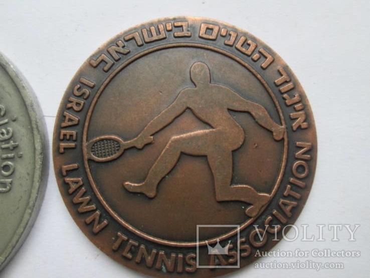 Две медали по тенису, фото №4