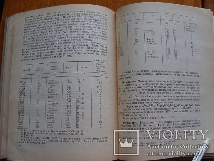 Монетное дело и денежное обращение в Азербайджане ХII-ХV вв. 2 тома. Сейфеддини М.А., фото №18