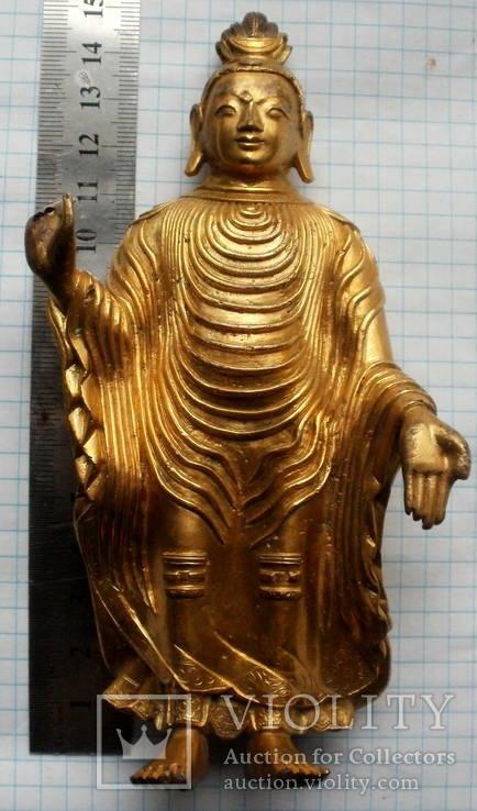 Будда в позолоте.