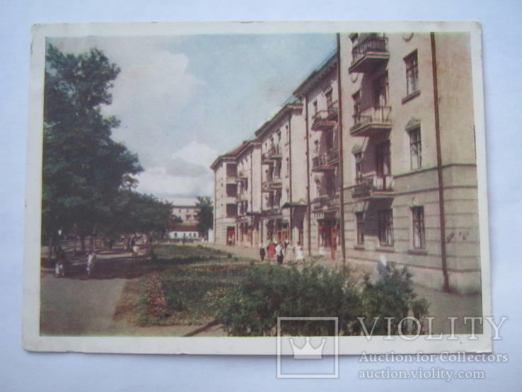Полтава.Улица Фрунзе.1958г.