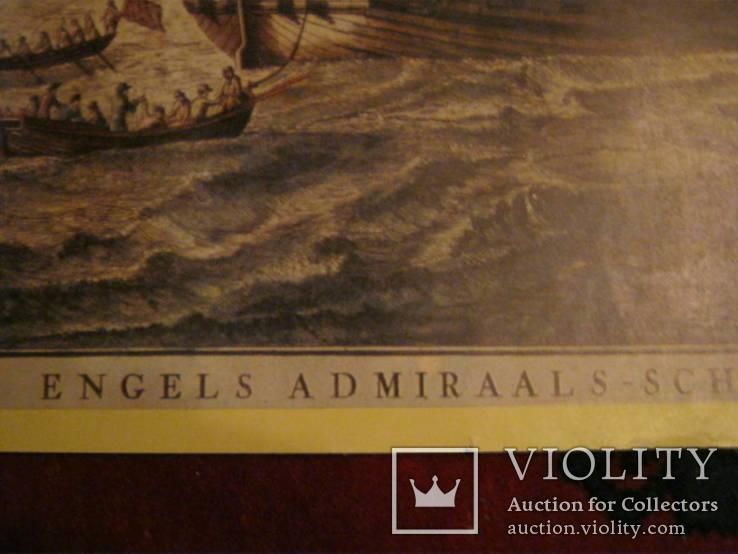 Плакат С Видом морской баталии, фото №3