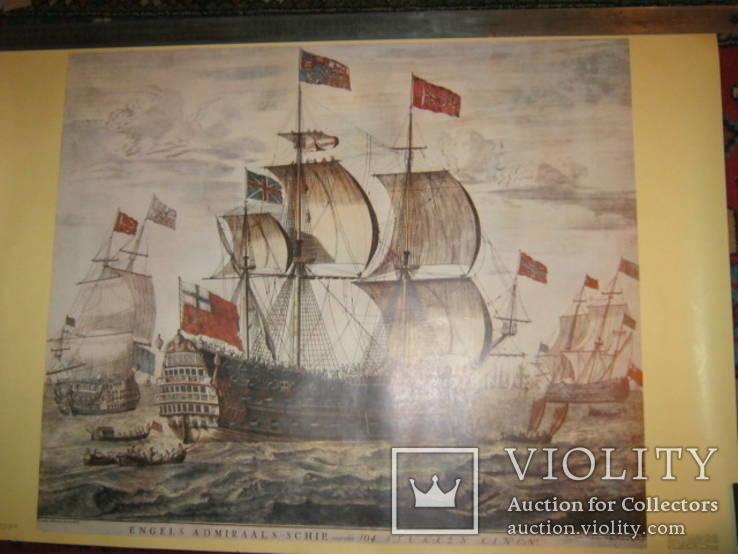 Плакат С Видом морской баталии, фото №5