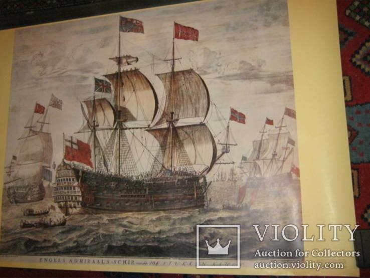 Плакат С Видом морской баталии, фото №7