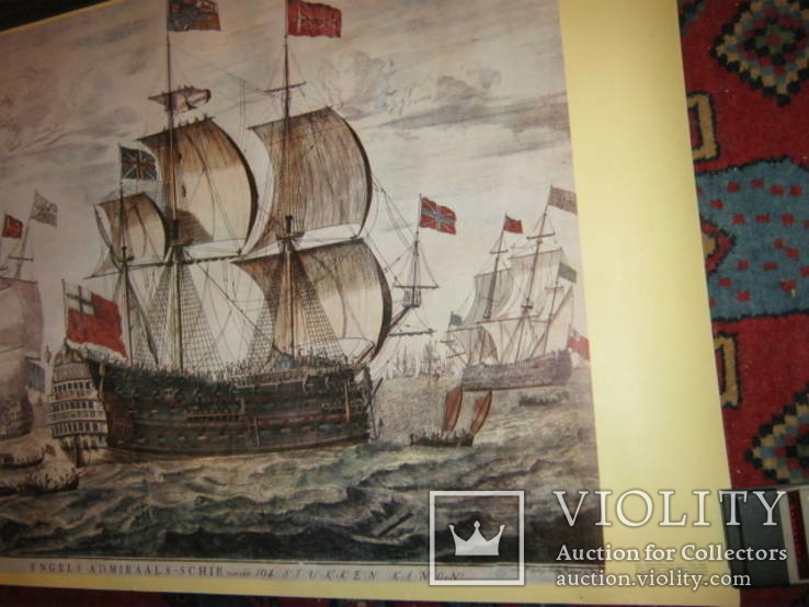 Плакат С Видом морской баталии, фото №8