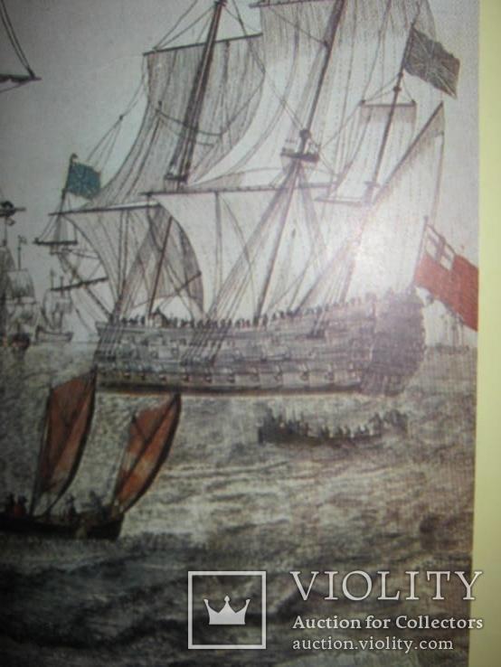 Плакат С Видом морской баталии, фото №12