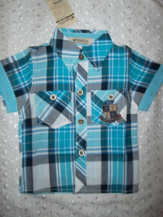 Рубашка на мальчика 1г