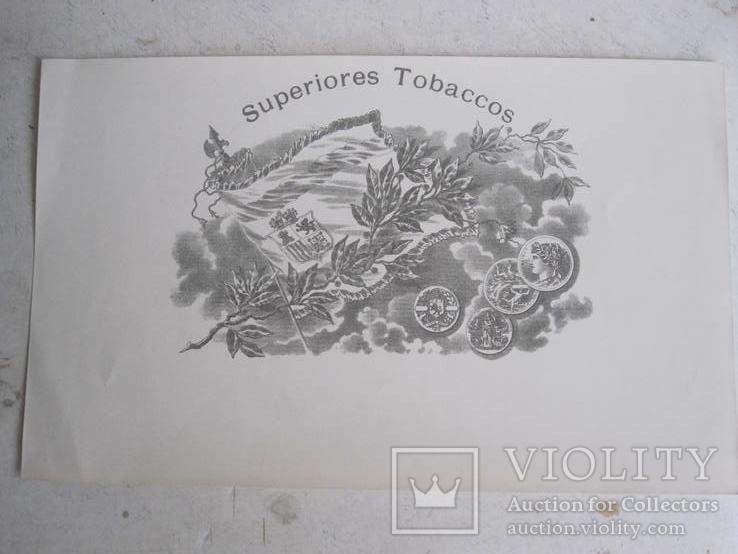 Вкладыши от сигар. ( 7 шт. одним лотом ), фото №4