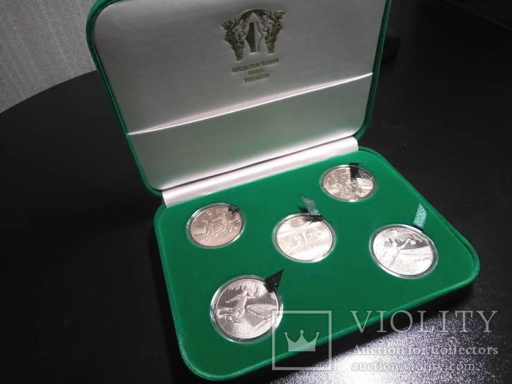 Набор Монет (Евро 2012) В Футляре